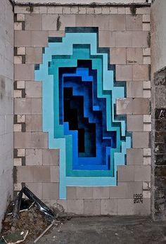 Graffiti 3D :1010 et Abyss