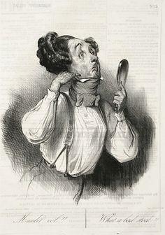 Honoré Daumier : Maudit Col!! at Davidson Galleries