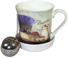 Hrnek Provence s kulatým sítkem Provence, Mugs, Tableware, Dinnerware, Tumblers, Tablewares, Mug, Dishes, Place Settings