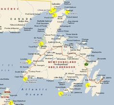 Canadian provinces activities newfoundland pics Pinterest