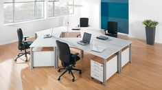 Multiple Workstation - by Rondana Chair Design, Furniture Design, Office Workstations, Improve Productivity, Office Storage, Office Interiors, Office Furniture, Your Space, Designer
