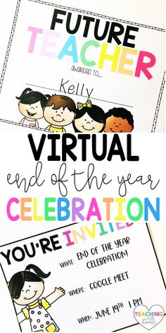 Are you planning a virtual end of the year celebration for your students? Come read 5 tips for the most epic virtual end of the year celebration! This post includes FREE printable and digital invitations for you to download and send to your students.