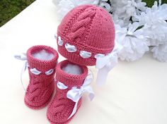 Baby Knitted P A T T E R N Baby Set Knitting Baby by Solnishko43