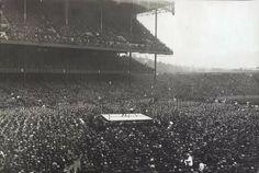 A boxing match at Yankee Stadium 1928