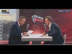 """Ce mercredi 30 décembre 2015, Nicolas Dupont-Aignan Président de Debout la France, était l'invité de Jean-Jacques Bourdin dans """" Bourdin direct """" sur RMC  Le Rassemblement Gaulliste - ni système ni extrêmes"""
