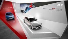 "Exhibition stand ""AUDI""Design by ""GM stand design ""designer Nazar Malets"