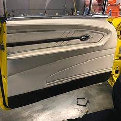 Automotive Upholstery, Car Upholstery, Custom Car Interior, Truck Interior, Custom Trucks, Custom Cars, Hot Rides, Automotive Design, Rear Seat