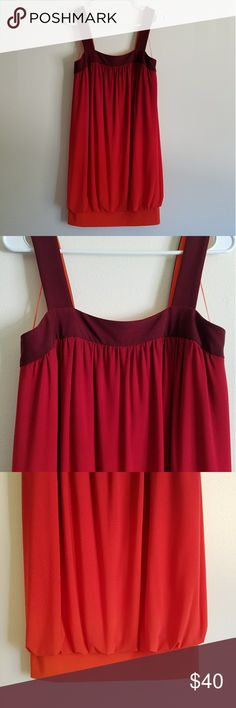 Ombre knit Dress! Donna Morgan knit mini dress with banded hem! Very comfortable, stretchy, soft! Donna Morgan Dresses Mini