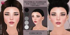 https://flic.kr/p/FfCYWj | Natural Hairbase | izzies.wordpress.com/2016/03/18/hairbase-and-dimples/  hair left: LeLutka - Dalila hair right: Boon - Lab.009 hair skin: Izzie's - Anya Skin (currently @ Skin Fair) eyes: IKON - Sovereign Eyes