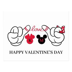 Disney Valentines, Happy Valentines Day Images, Valentines Diy, Mickey Mouse Amor, Mickey And Minnie Love, Disney Themed Bedrooms, Drawings For Boyfriend, Valentines Day Drawing, Disney Silhouettes