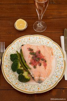 RETETE CU SOMON   Diva in bucatarie Salmon Recipes, Mai, Steak, Food, Essen, Steaks, Meals, Yemek, Eten