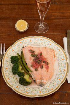 RETETE CU SOMON | Diva in bucatarie Salmon Recipes, Mai, Steak, Food, Meal, Essen, Steaks