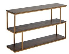 Content by Terence Conran Balance Metal Low Shelving, ideal as an ornamental piece to store your decorative items. Low Shelves, Display Shelves, Storage Shelves, Shelving, Dark Wood Furniture, Living Room Furniture, Low Tables, Entryway Tables, Console Tables