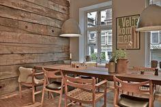 Café Langhoff og Juul, Guldsmedegade Aarhus, Table, Furniture, Home Decor, Decoration Home, Room Decor, Tables, Home Furnishings, Home Interior Design