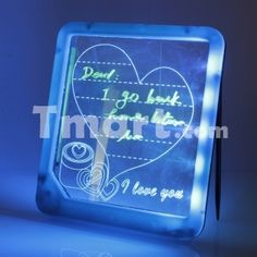 Glowing LED Light-up Message Text Board Random Type,$5.47