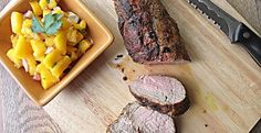 Spice Rubbed Pork Tenderloin