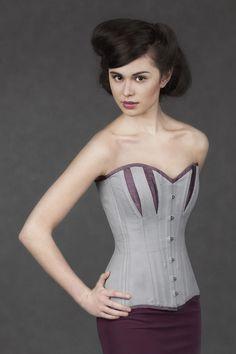 72e4939e94 A Hera longline overbust by Crikey Aphrodite.  style  fashion  corset   waisttrainer