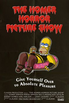 If you liked The Rocky Horror Picture Show, then you'll love The Homer Horror Picture Show!
