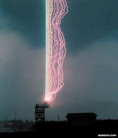 Awesome photo of a Lightning Rod in action