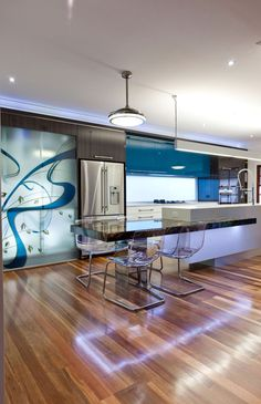 Interior .. Modern kitchen