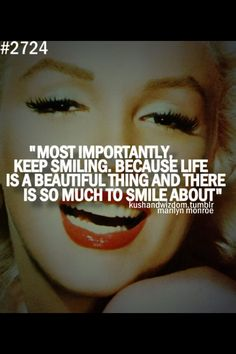 Marylin monroes very true words