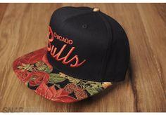 94e10ba7a85 Chicago Bulls Rose Bill Custom Snapback Hat