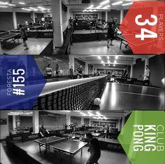 Turneul săptămânal #FORESTA etapa °155: 34 jucători #kingpong #tenisdemasa #pingpong #asztalitenisz #tischtennis #tabletennis #oradea #bestplace #wintersport