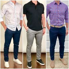Men's Fashion tips. Dress with dapper and wear the proper attire with our men's style guide. Mens Casual Dress Outfits, Formal Men Outfit, Stylish Mens Outfits, Casual Clothes, Gq Mens Style, Mens Style Guide, Men Style Tips, Look Man, Suit Fashion