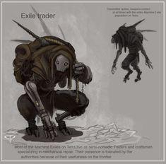 Machine Exile Peddler by Parkhurst on deviantART