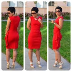 mimi g style red dress dancing
