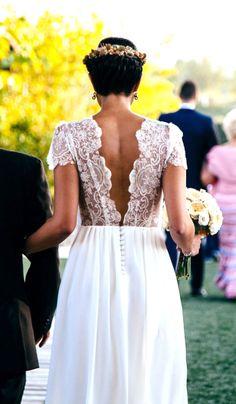 Vestido de novia Mila Falcón www.milafalcon.wordpress.com