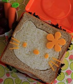 i will definitely be trying this when my daughter is a little older! this website has all kinds of really cute food ideas!