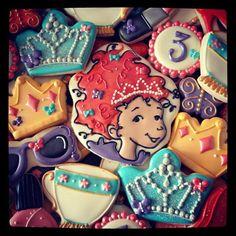 Fancy Nancy cookies!