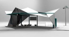 Sail bus shelter design by_a543 Kwek Rui Kiat-Public Space Ideas