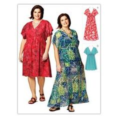 Kwik Sew Women's Dresses (3868) Pattern  Item Number: KP-3868  Our Price: $11.98 per Each