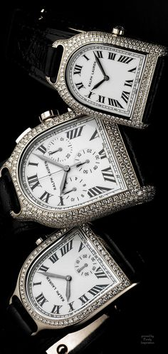 The Ralph Lauren Stirrup Collection (small and medium white gold pave)   Purely Inspiration