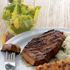 How to BBQ Steak Outback Style- WomansDay.com- How to BBQ