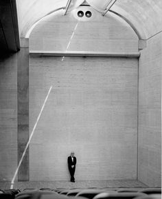 Interior Design / Architecture | Louis Kahn, Kimbell Art Museum.