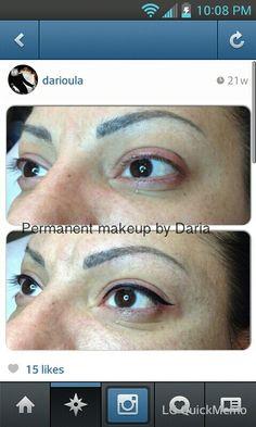 Eyeliner tattoo #IWant