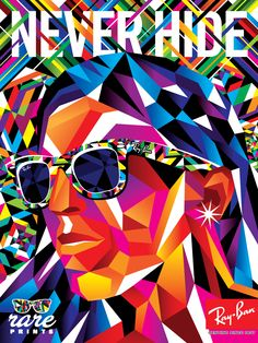 Ray Ban's new mag ads are awesome! Never Hide <3