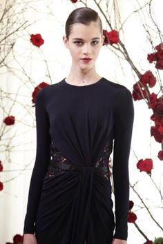 Zuhair Murad Fall Winter Ready To Wear Fall Winter 2013 Paris Live Fashion, Fashion Show, Black Dress Outfits, Sophisticated Outfits, Zuhair Murad, Spring Looks, Runway Fashion, Evening Dresses, Ready To Wear