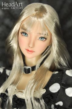 """Head Art Factory"" 1/6 HandPaint Custom Head ""AW462""for Obitsu/CY girl/Hot stuff"