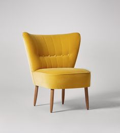 Swoon Editions Armchair, Mid Century style in Powder Blue - £399