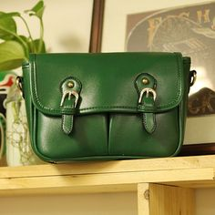 another beautiful green bag!