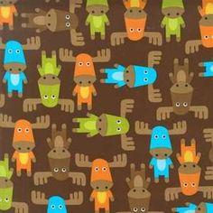 Robert Kaufman fabric Moose Bermuda