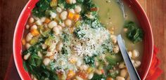 From Italy, zuppa di fagioli is often overlooked in favour of its more illustrious cousin, minestrone. This peasant soup, however, is full of flavour and can be vegetarian or not, …