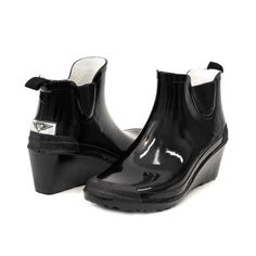 a66b5fcf056c Forever Young - Women Ankle Rubber Rain Boots