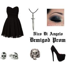 """Demigod Prom"" by beccakat on Polyvore"