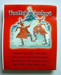 """Joulujalkakylpy - """" Tonttujen jouluyö"""" - Pirteä Paketti 4,25 e"""
