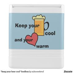 """""""keep your beer cool"""" koelbox igloo frigobox"""